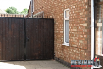 Metal & wood Gates