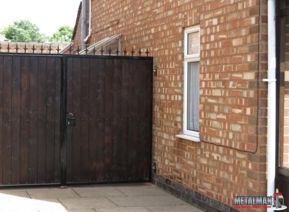 Metal & wood Gates